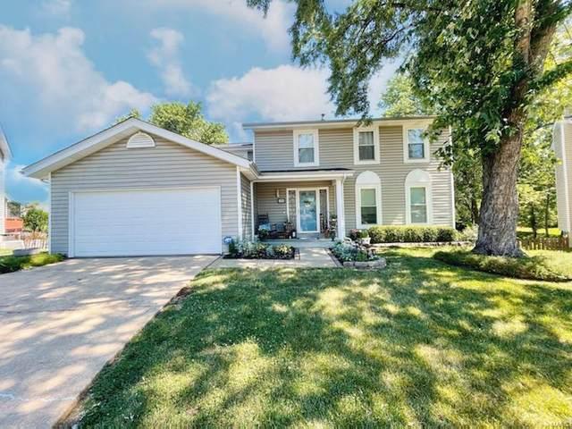 136 Tara Ridge, Ballwin, MO 63021 (#21043066) :: St. Louis Finest Homes Realty Group