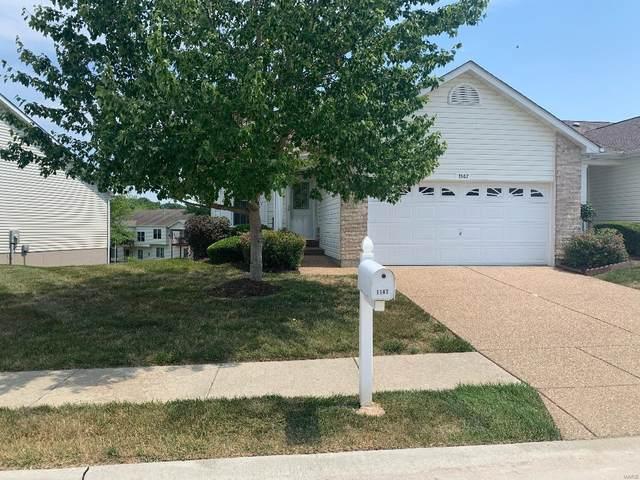 1147 Silo Bend 341B, Wentzville, MO 63385 (#21043115) :: Matt Smith Real Estate Group