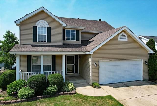 519 Highland Estates Drive, O'Fallon, IL 62269 (#21043208) :: Fusion Realty, LLC
