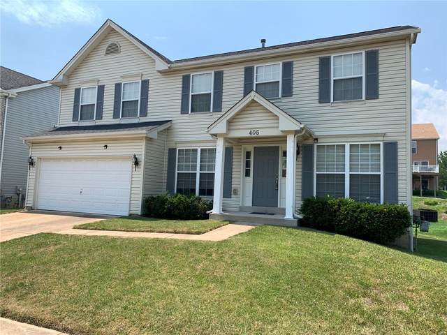 405 Coventry Trail Lane, Maryland Heights, MO 63043 (#21043237) :: St. Louis Finest Homes Realty Group