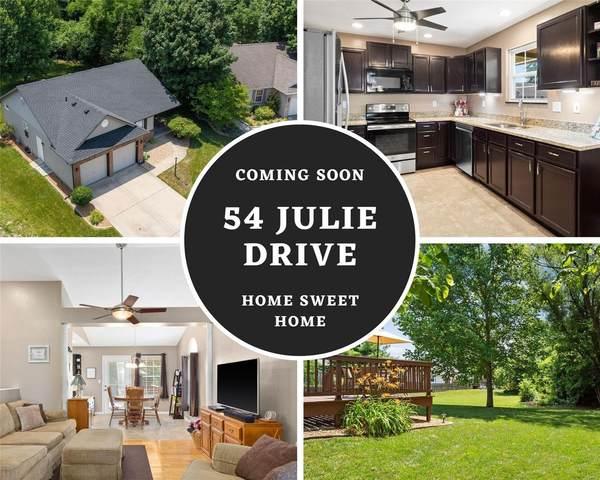 54 Julie Drive, Glen Carbon, IL 62034 (#21043343) :: Fusion Realty, LLC