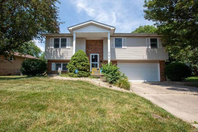 318 Edna Drive, O'Fallon, IL 62269 (#21043483) :: Tarrant & Harman Real Estate and Auction Co.