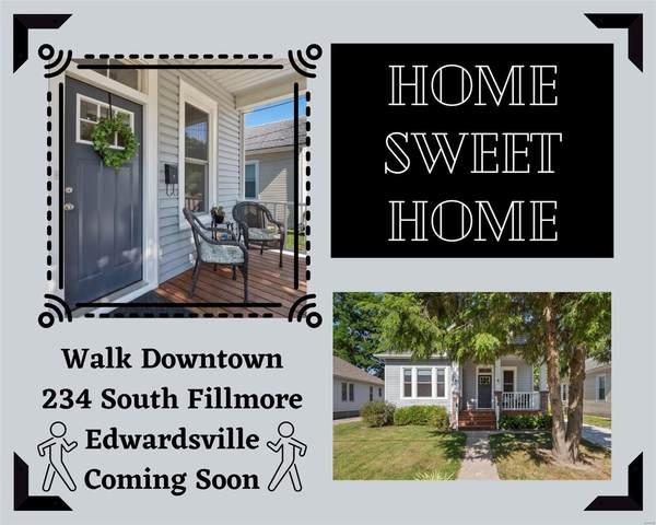 234 S Fillmore Street, Edwardsville, IL 62025 (#21043523) :: Fusion Realty, LLC