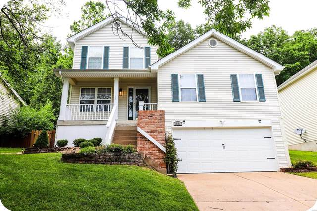 551 Elm Crossing, Ballwin, MO 63021 (#21043624) :: St. Louis Finest Homes Realty Group
