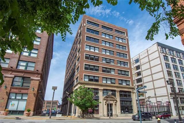 1619 Washington Avenue #805, St Louis, MO 63103 (#21044833) :: Parson Realty Group