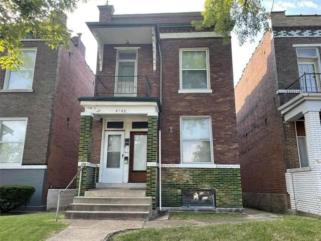 4742 Louisiana Avenue, St Louis, MO 63111 (#21044855) :: Clarity Street Realty