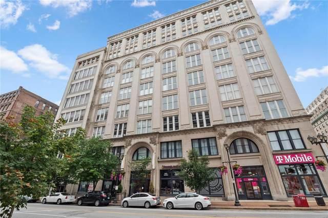 1136 Washington Avenue #501, St Louis, MO 63101 (#21045391) :: Delhougne Realty Group