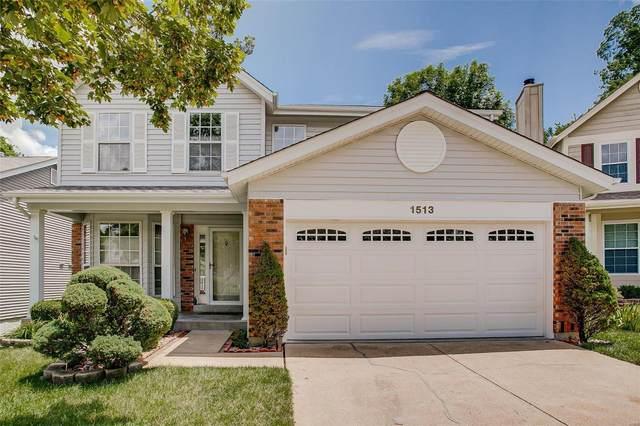 1513 Berry Leaf, Ballwin, MO 63021 (#21045905) :: PalmerHouse Properties LLC
