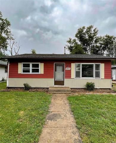 405 Indiana Avenue, South Roxana, IL 62084 (#21045917) :: Fusion Realty, LLC