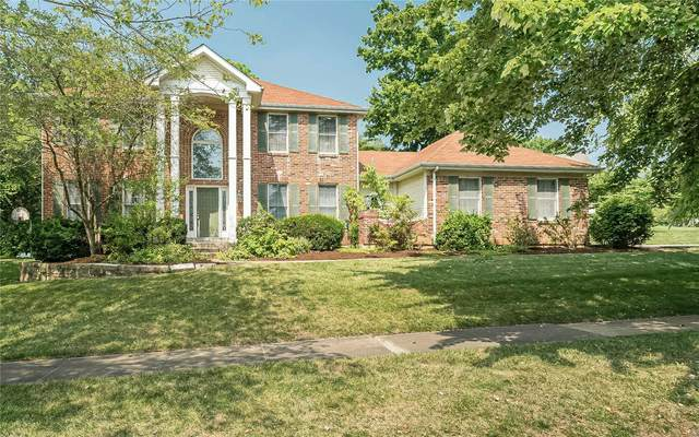 1911 Grayson Ridge Court, Chesterfield, MO 63017 (#21046157) :: The Becky O'Neill Power Home Selling Team