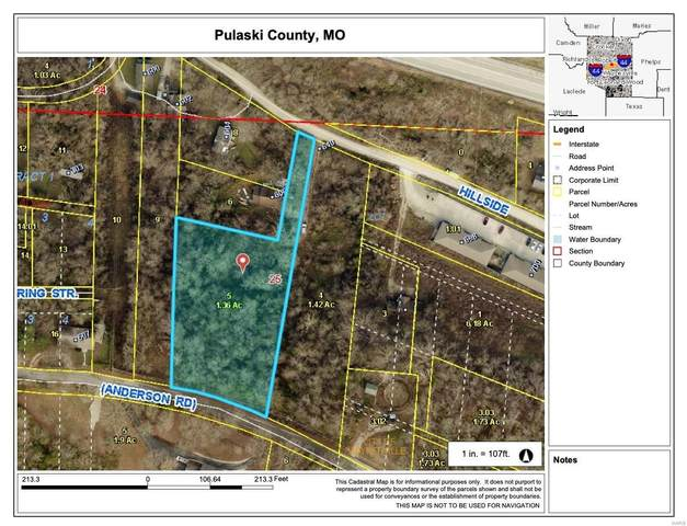 0 Hillside Drive, Waynesville, MO 65583 (#21046254) :: Friend Real Estate