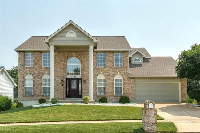 2669 Towne Oaks Drive, St Louis, MO 63129 (#21046688) :: Jenna Davis Homes LLC