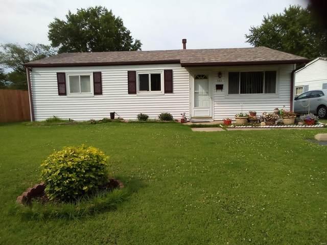 742 Saint Norbert Drive, Cahokia, IL 62206 (#21046772) :: Parson Realty Group