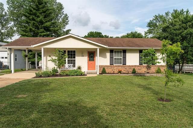 110 Rock Bridge Road, Villa Ridge, MO 63089 (#21046812) :: Matt Smith Real Estate Group