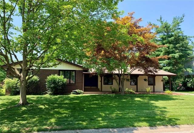 1814 Tomahawk Drive, Godfrey, IL 62035 (#21046844) :: Fusion Realty, LLC