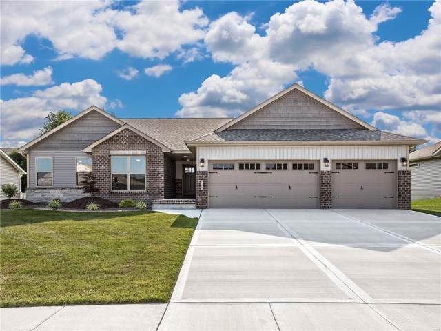 128 N Timber Terrace, Troy, IL 62294 (#21047397) :: Fusion Realty, LLC