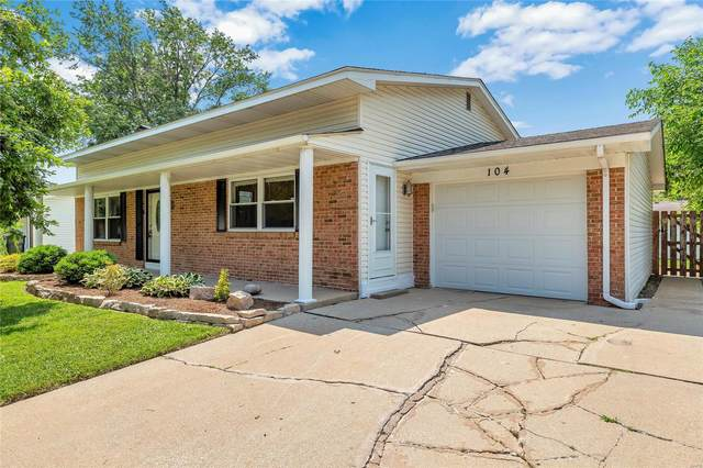 104 Chateau Drive, Fairview Heights, IL 62208 (#21047552) :: Fusion Realty, LLC