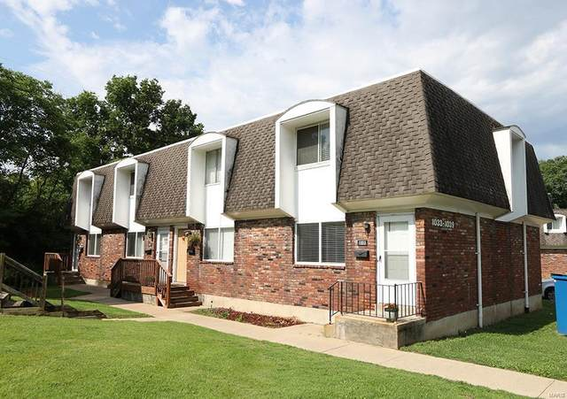 1033 Lafayette Court A, Collinsville, IL 62234 (#21047683) :: Century 21 Advantage
