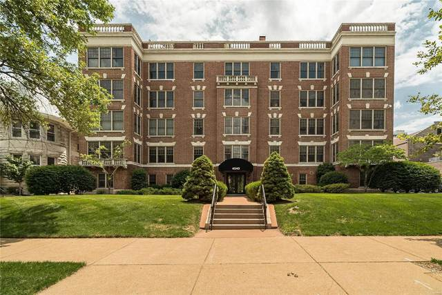 4540 Lindell Blvd. #103, St Louis, MO 63108 (#21047691) :: Delhougne Realty Group