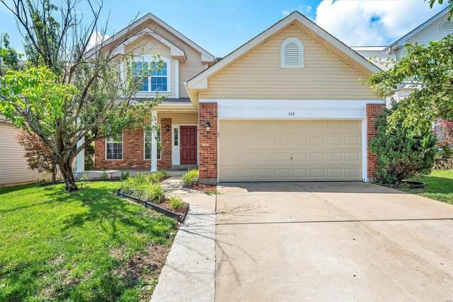 543 Brook Meadow Drive, Ballwin, MO 63021 (#21047818) :: Clarity Street Realty