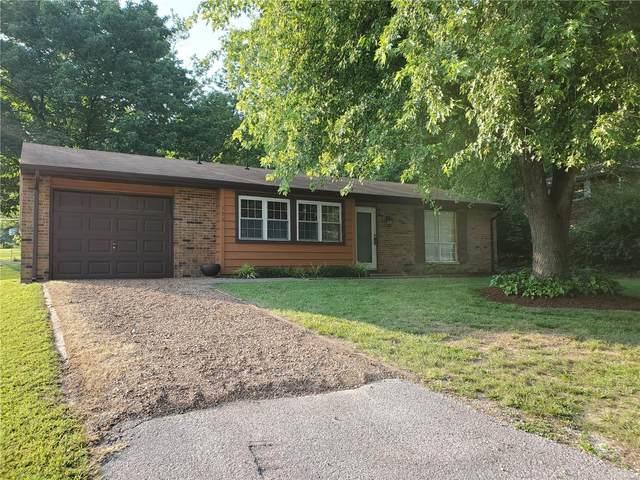 153 Ridgemoor Drive, Glen Carbon, IL 62034 (#21048234) :: Clarity Street Realty