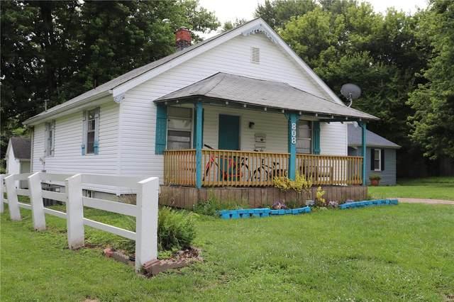808 Illinois Avenue, Collinsville, IL 62234 (#21049133) :: Parson Realty Group