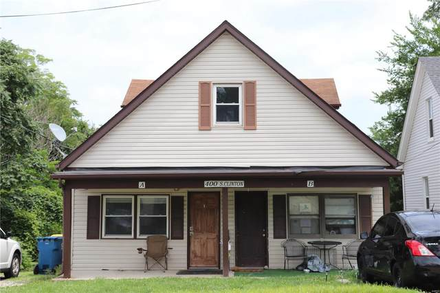 400 S Clinton, Collinsville, IL 62234 (#21049291) :: Parson Realty Group
