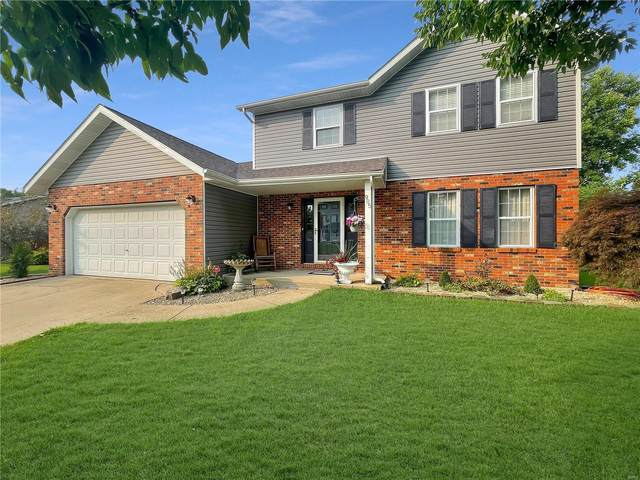 905 Rolling Meadows Drive, Maryville, IL 62062 (#21049317) :: St. Louis Finest Homes Realty Group