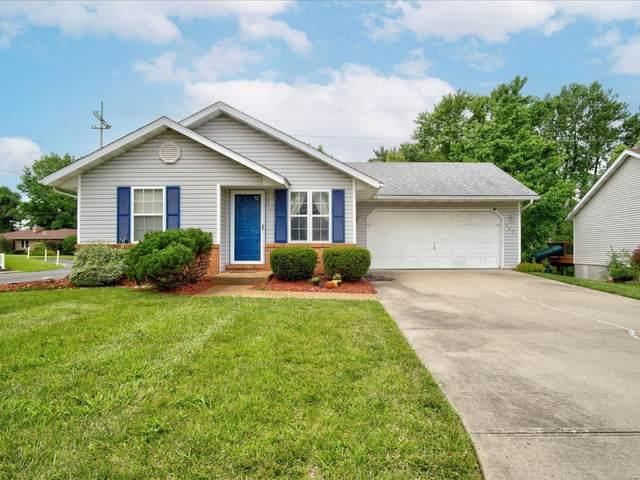 1201 Cedar Ridge Court, Collinsville, IL 62234 (#21049389) :: Fusion Realty, LLC