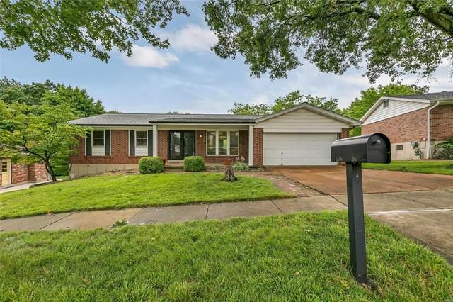 4668 Lodgewood Lane, St Louis, MO 63128 (#21049405) :: Kelly Hager Group   TdD Premier Real Estate