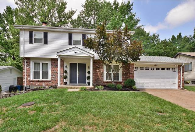 1235 Traverton Drive, Chesterfield, MO 63017 (#21049637) :: Parson Realty Group