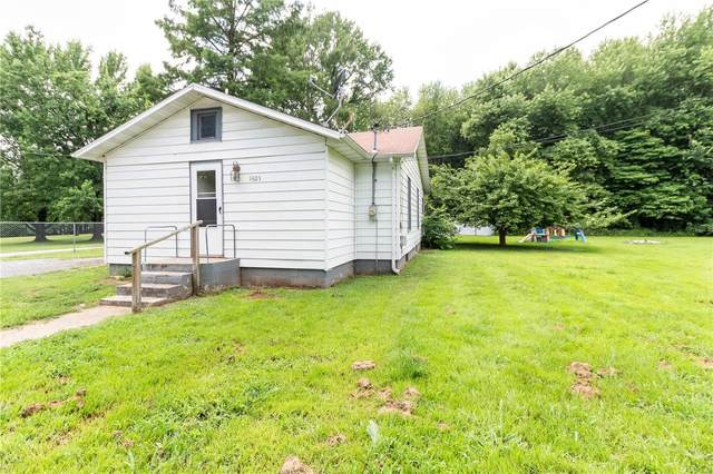 1603 West Road, WEST FRANKFORT, IL 62896 (#21049646) :: Matt Smith Real Estate Group