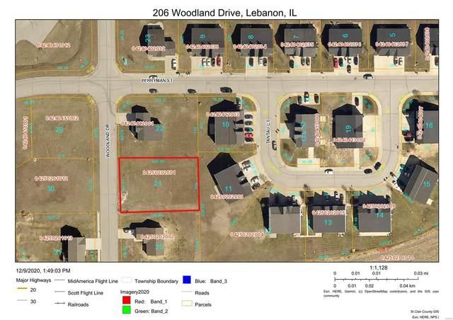206 Woodland Drive, Lebanon, IL 62254 (#21049979) :: Fusion Realty, LLC