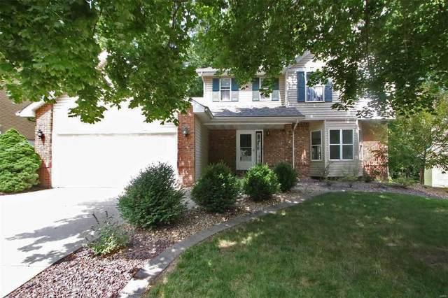 218 Forest Ridge Court, Glen Carbon, IL 62034 (#21050080) :: Parson Realty Group