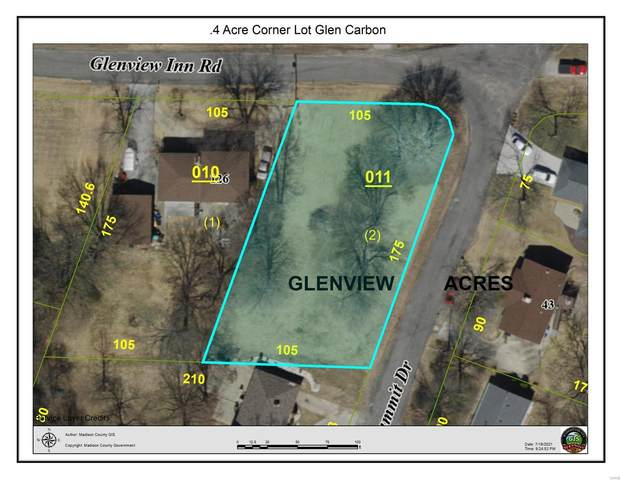 0 Glenview Inn Road, Glen Carbon, IL 62034 (#21051399) :: Blasingame Group | Keller Williams Marquee