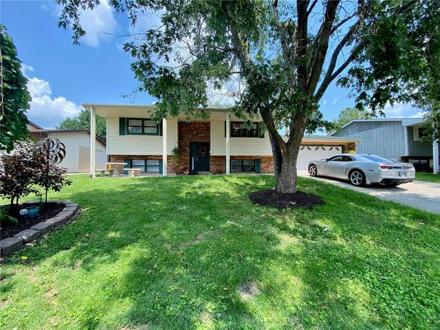 851 St. Cletus Drive, Cahokia, IL 62206 (#21051423) :: Parson Realty Group