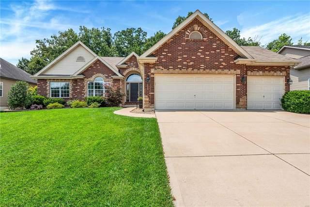 308 Highland Meadows Court, Wentzville, MO 63385 (#21051565) :: PalmerHouse Properties LLC