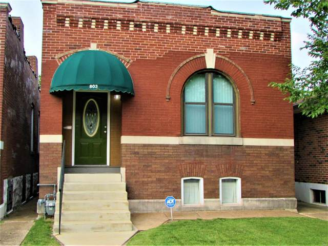 803 Bates Street, St Louis, MO 63111 (#21051599) :: RE/MAX Professional Realty