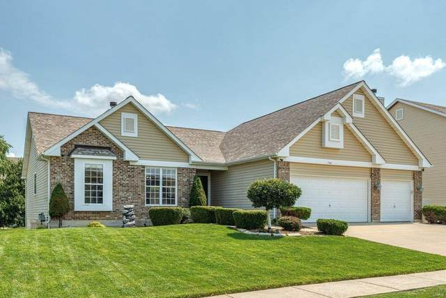 734 Chancellorsville Drive, Wentzville, MO 63385 (#21051670) :: PalmerHouse Properties LLC
