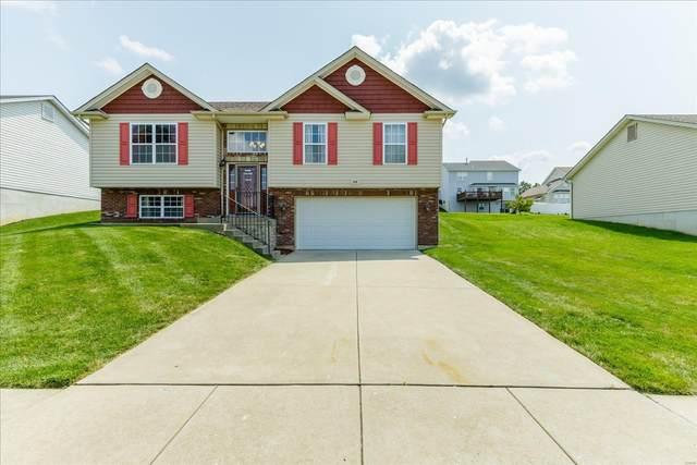 348 Rustic Oaks, Wentzville, MO 63385 (#21051801) :: PalmerHouse Properties LLC