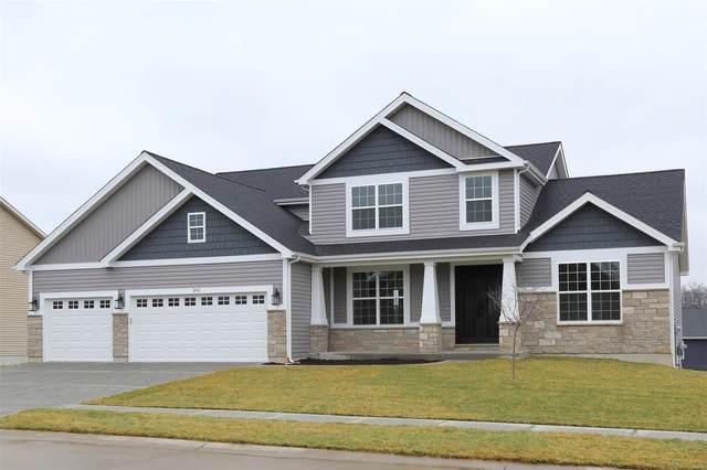 307 Wilmer Valley (Lot 140 Uc) Drive, Wentzville, MO 63385 (#21051857) :: PalmerHouse Properties LLC