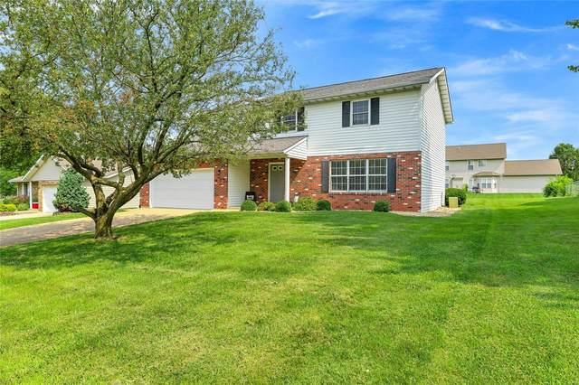603 Eckert Lane, Columbia, IL 62236 (#21051883) :: Fusion Realty, LLC