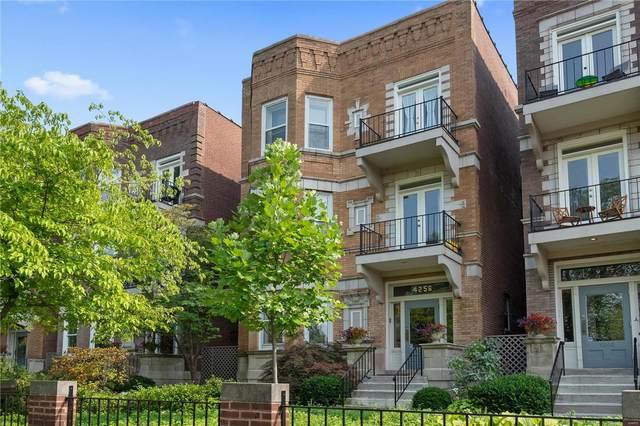 4256 Lindell Boulevard B, St Louis, MO 63108 (#21051888) :: Matt Smith Real Estate Group