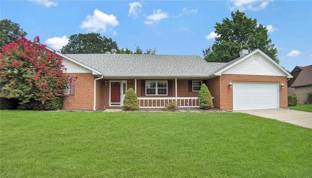 2721 Timberline Drive, Belleville, IL 62226 (#21052064) :: RE/MAX Professional Realty