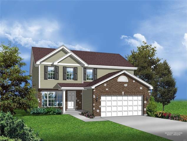 414 Ganim Drive, Shiloh, IL 62221 (#21052081) :: The Becky O'Neill Power Home Selling Team