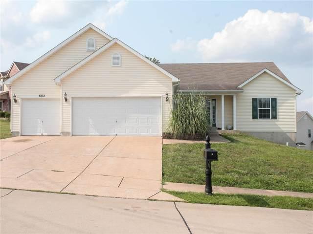 682 Berrywine Lane, Arnold, MO 63010 (#21052188) :: Blasingame Group | Keller Williams Marquee