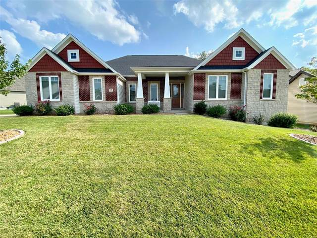 117 Woodspur, Wentzville, MO 63385 (#21052338) :: Parson Realty Group