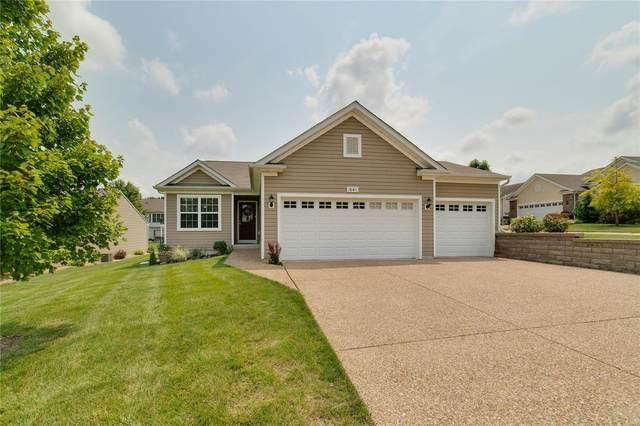 641 Falconcrest, Lake St Louis, MO 63367 (#21052403) :: PalmerHouse Properties LLC