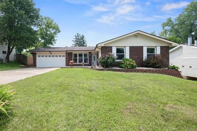 120 Hunters Ridge, Saint Charles, MO 63301 (#21052496) :: Jeremy Schneider Real Estate