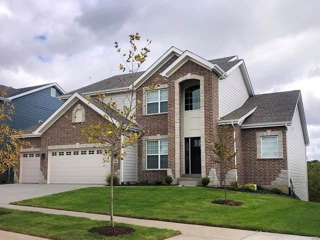 1 Pin Oak At Bridle Path, Ballwin, MO 63021 (#21052543) :: PalmerHouse Properties LLC
